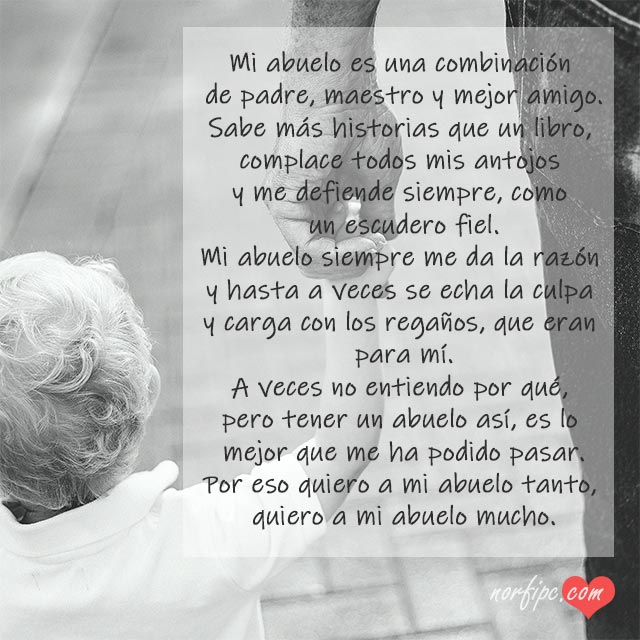 Frases Para Felicitar Y Dedicar A Mi Abuelo O Abuela