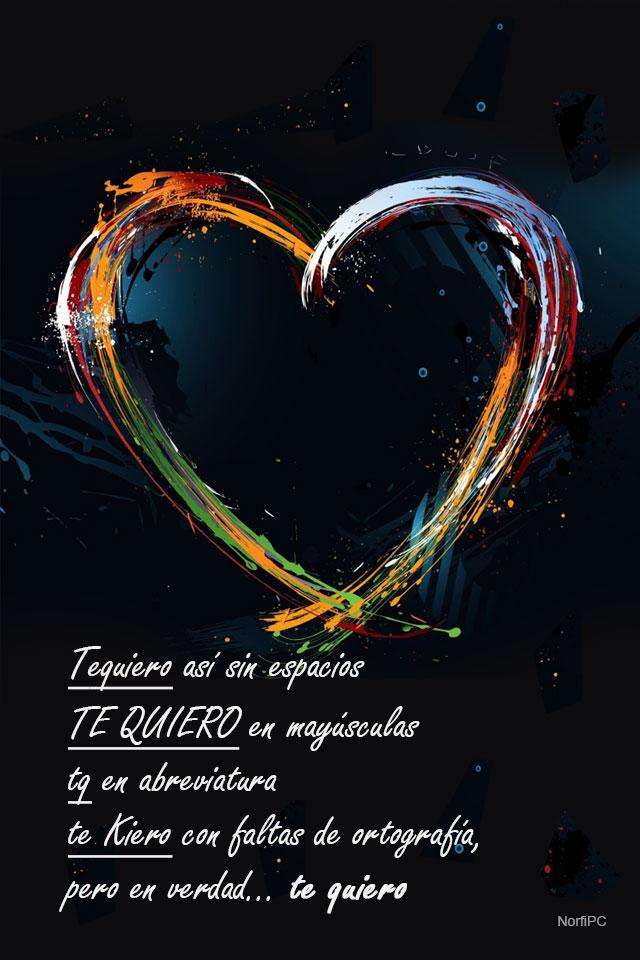 Fondos Para El Celular O Tablet Con Palabras De Amor