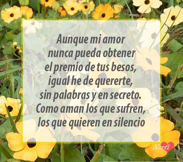 Mensajes Para Un Amor En Silencio Y Sin Derecho