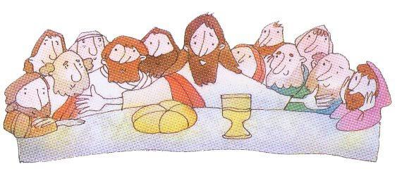 La Última Cena de Jesús con los 12 Apóstoles, sus discípulos