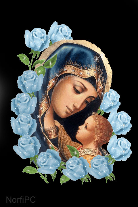 Fondos de pantalla con imágenes de la Virgen María para el celular