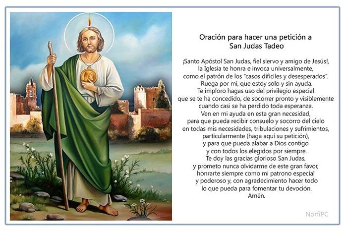 Matrimonio Catolico Resumen : Oraciones cristianas a san judas tadeo