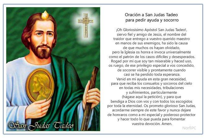 Oraciones Cristianas A San Judas Tadeo