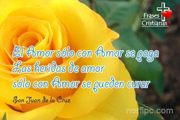 Frases Sobre El Amor Cristiano De San Juan De La Cruz