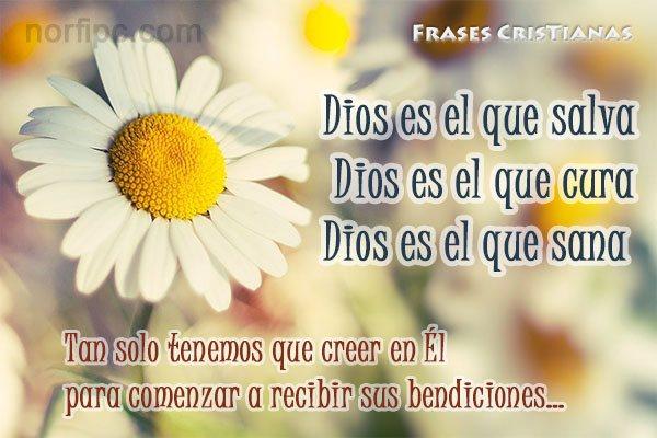 Frases de agradecimiento y gratitud a Dios