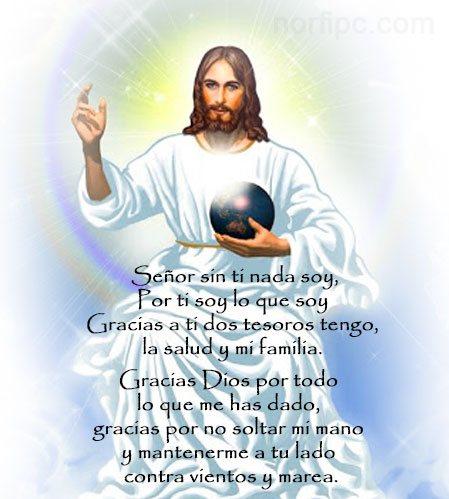 Resultado de imagen de GRACIAS DIOS POR TODO RELIGIOSOS