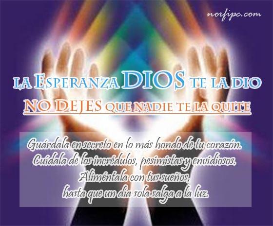 Frases Cristianas De Esperanza