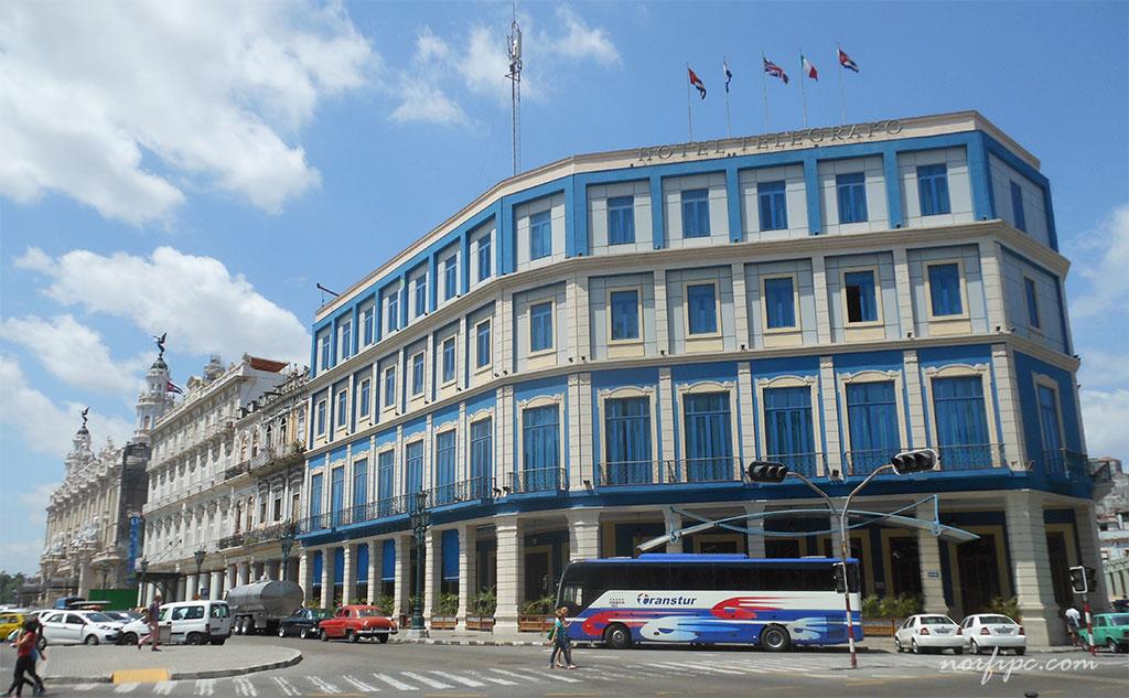 hotel habana vieja: