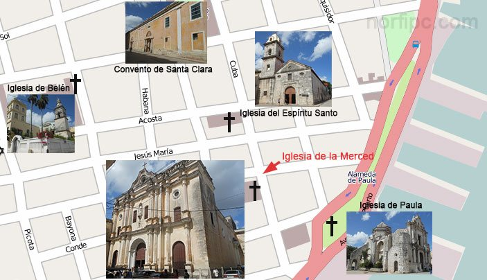 La Iglesia De Nuestra Se 241 Ora De La Merced En La Habana