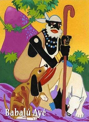 Orisha yoruba Babalú Ayé