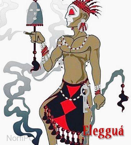 Orisha yoruba Elegguá
