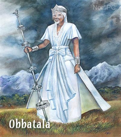 Orisha yoruba Obbatalá