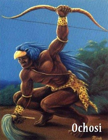 Orisha yoruba Ochosi