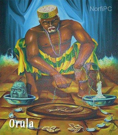 Orisha yoruba Orula u Orunmila