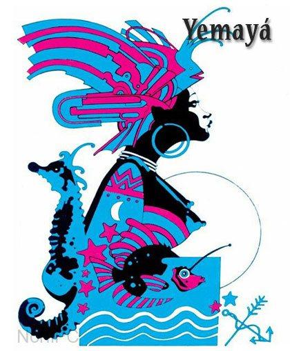 Orisha yoruba Yemayá
