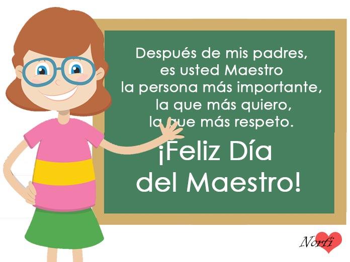 Frases Y Mensajes Para El Día Del Maestro O Educador