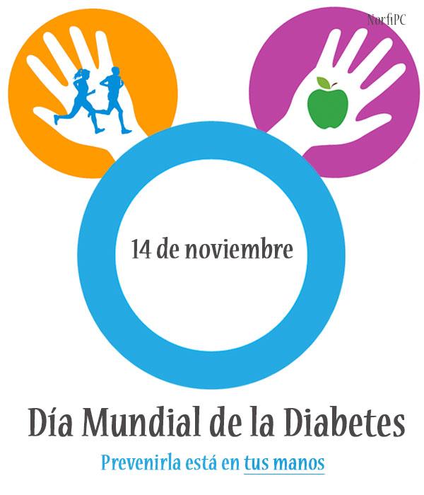 El Día Mundial de la Diabetes, 14 de noviembre