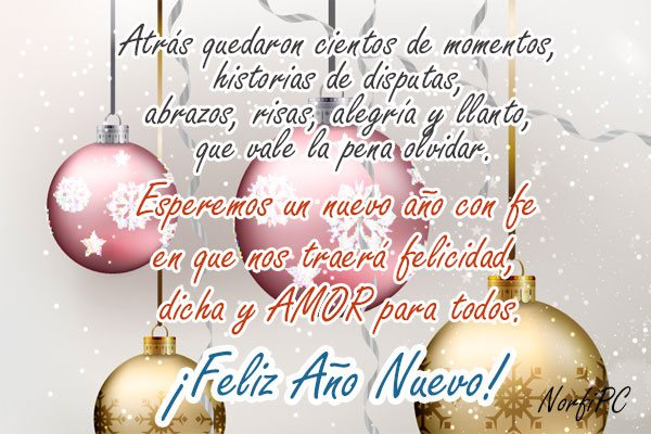 Frases Y Postales Para Felicitar En Navidad Fin De Ano Y Ano Nuevo