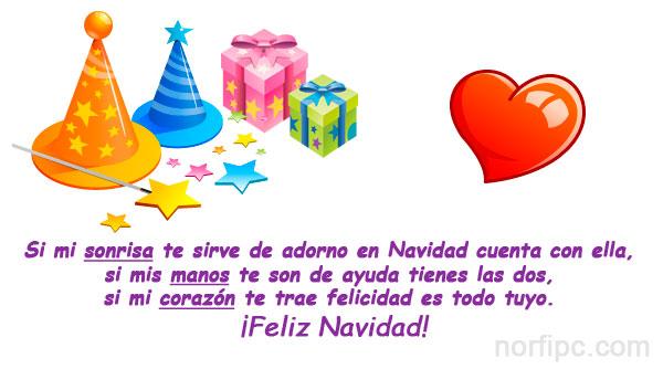 Frases y postales para felicitar en navidad fin de a o y - Dedicatorias para navidad y ano nuevo ...