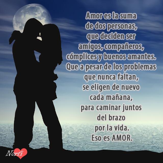Que Es El Amor Y Que Es Amar Versos Poesia Y Sentimientos