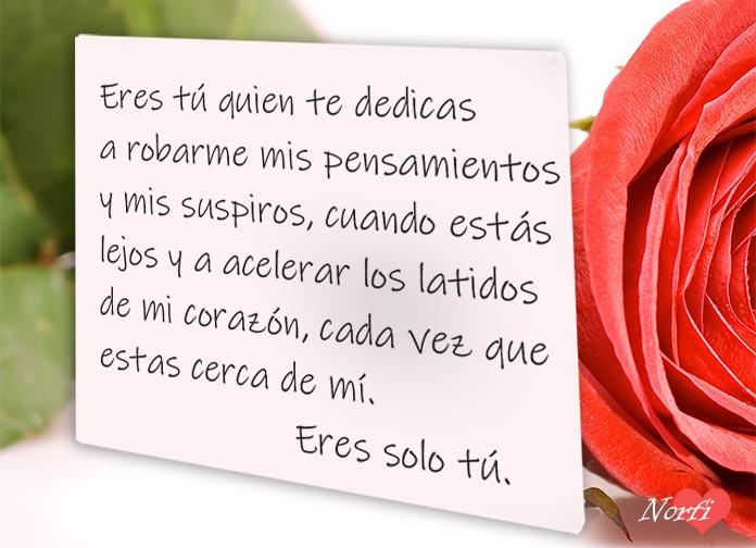 Frases De Amor Inspiradas Por Ti Escritas Y Dedicadas Para Ti