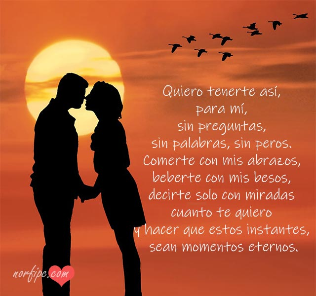 Letras Y Versos De Amor Para Dos Completamente Enamorados