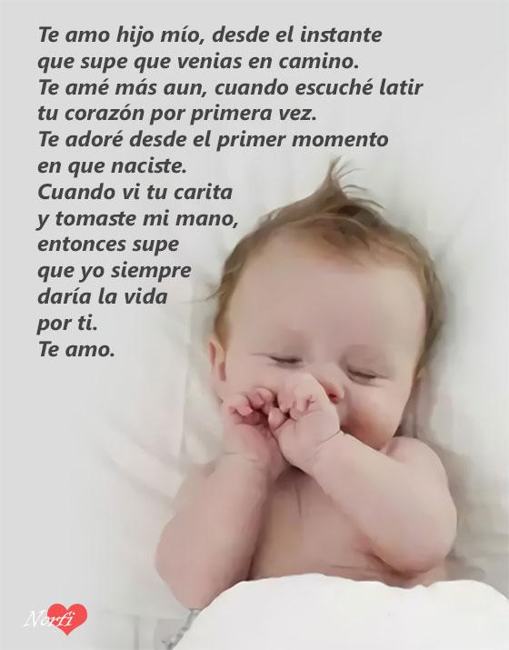 Frasesamor Frases De Amor Para Un Hijo Bebe