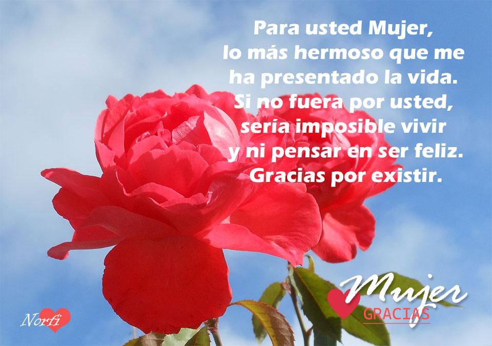 Para Las Mujeres En Su Dia Versos De Reconocimiento Y Amor