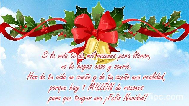 Felicitaciones Escritas De Navidad.Frases Y Postales Para Felicitar En Navidad Fin De Ano Y
