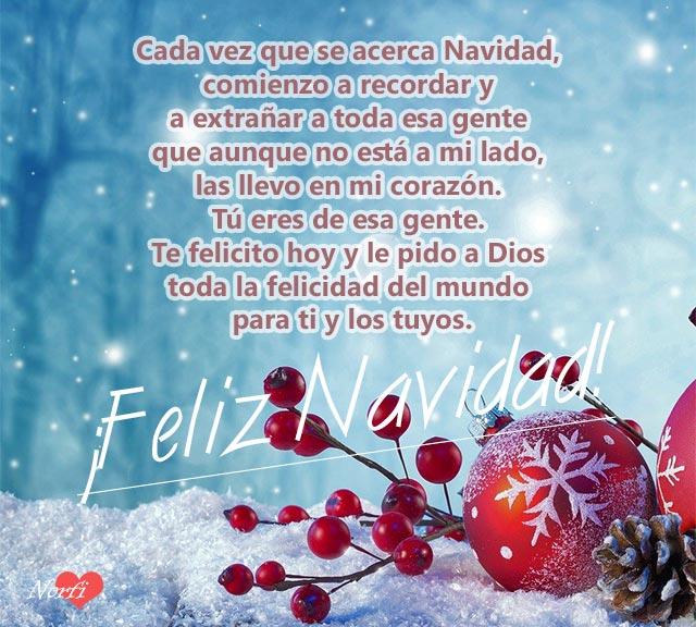 Mensajes Para Los Que Quiero Y Aprecio En Navidad Y Están Lejos