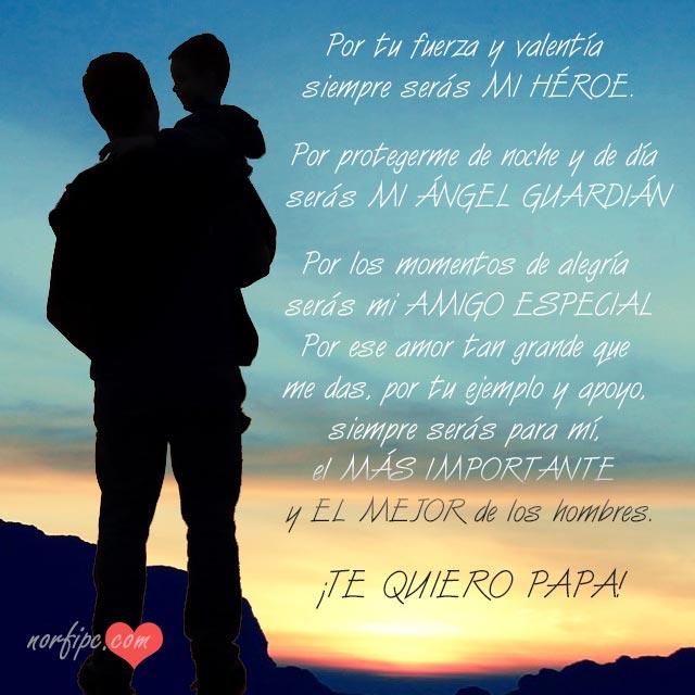 Para Mi Papa Frases De Amor Respeto Y Carino