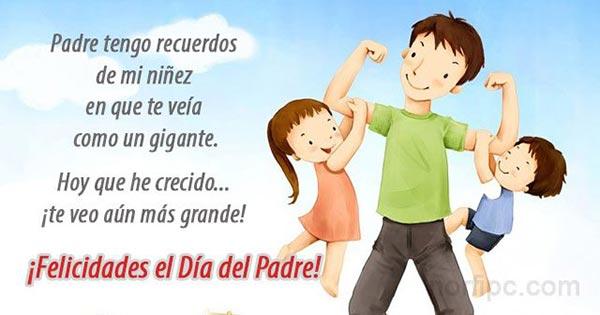 Mensajes De Felicitación Para El Día Del Padre