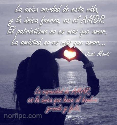 Frases De Jose Marti Sobre La Vida La Amistad Y El Amor