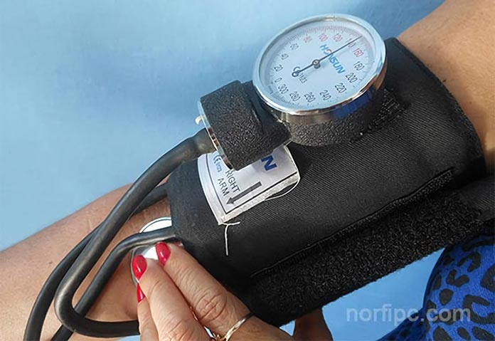 Valores normales de la presión o tensión arterial según la..