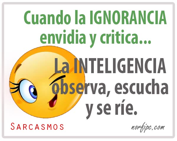 La ignorancia y la inteligencia