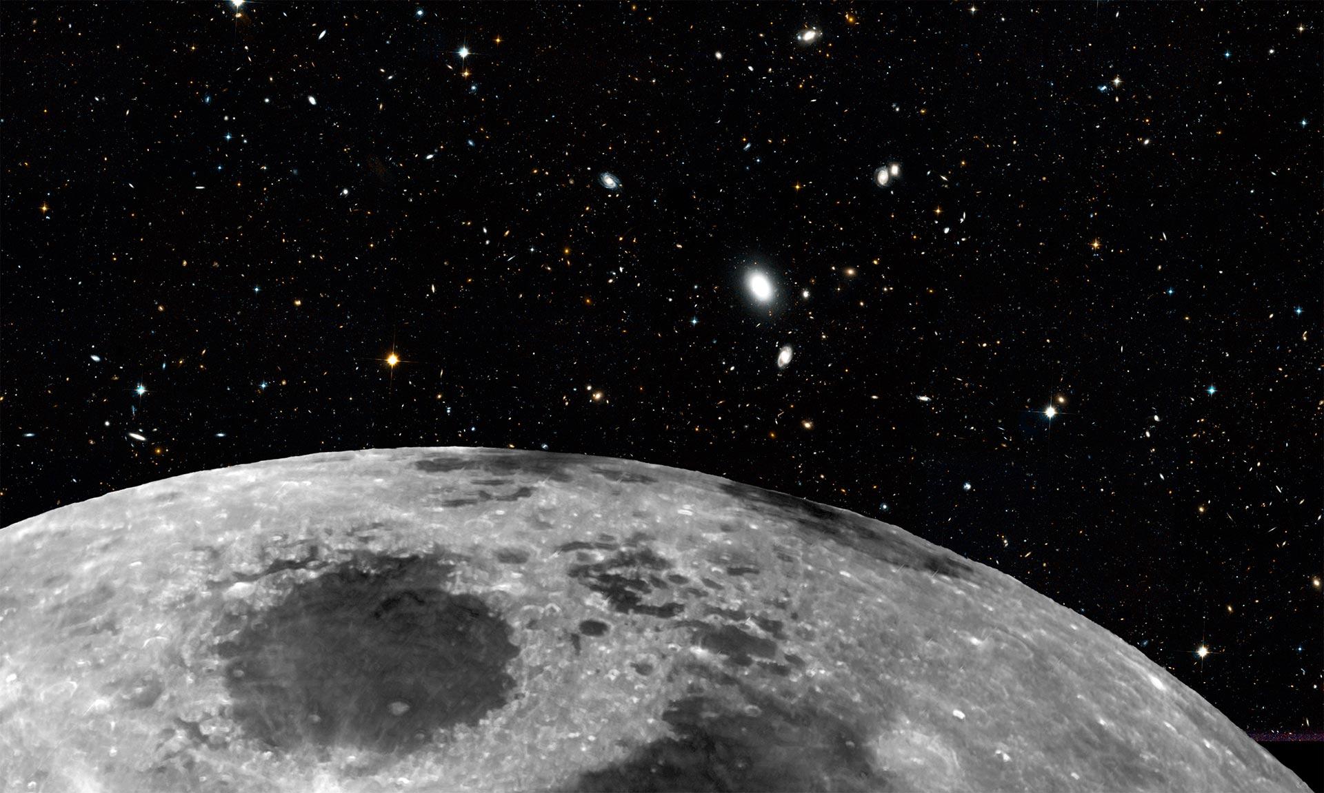 Las Mejores Fotos E Imágenes De La Luna Desde La Tierra Y
