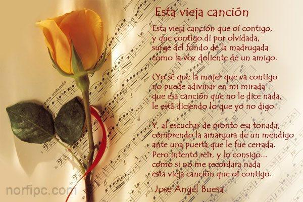 Poemas Y Versos De Amor De Jose Angel Buesa