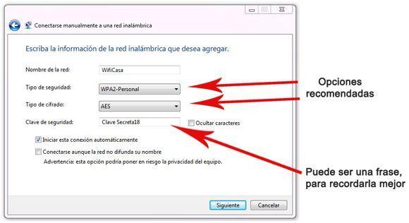 Configurar el equipo para conectarse a la red Wifi