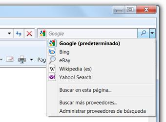 Establecer Google como tu buscador predeterminado