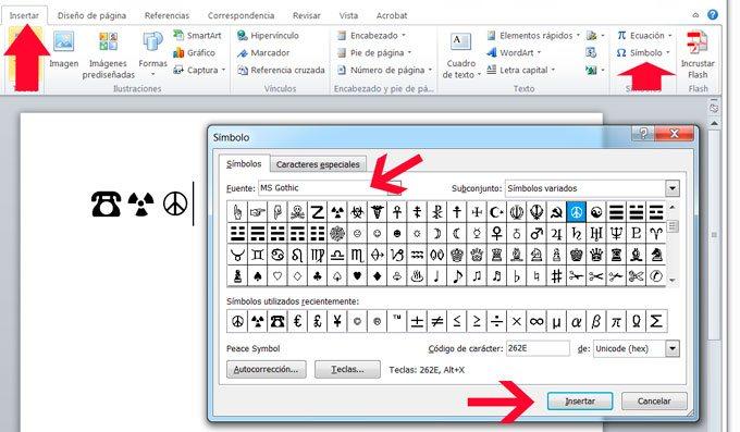 Como Insertar Caracteres Unicode En Documentos Y Paginas Web