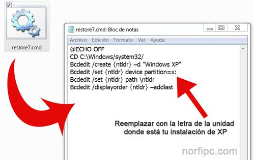 Restaurar instalacion de Windows 7
