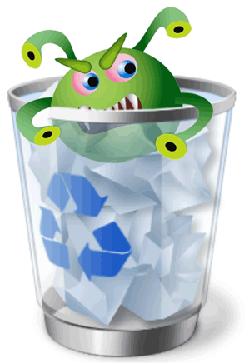 Conocer, detectar y eliminar el virus Recycler