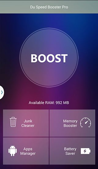 Du Speed Booster, herramienta para acelerar un dispositivo con Android