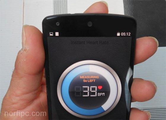 Medir la frecuencia cardiaca en Android con el celular o