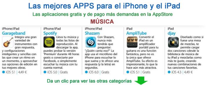 aplicacion para descargar musica iphone 4 gratis