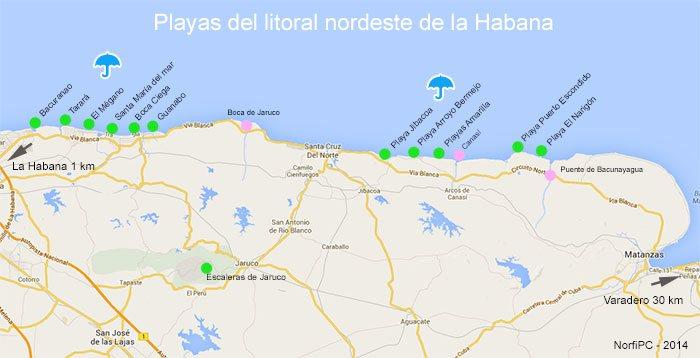 fotos de las playas de cuba:
