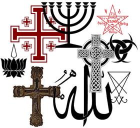Símbolos Y Signos De La Religión Iglesias Y Creencias Su Significado