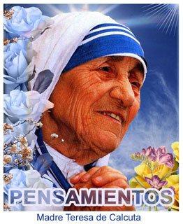 Sor Teresa De Calcuta Bendita Mujer A La Que Amo Elisa