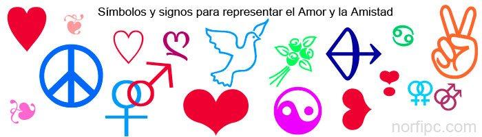 Simbolos Signos Y Caracteres Unicode De Amor Y Amistad Para Facebook
