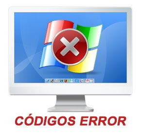 C�digos de error generados por Windows